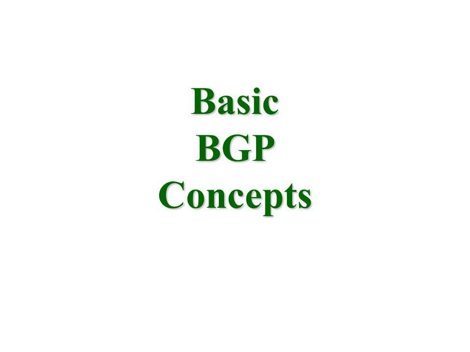 Basic BGP Concepts
