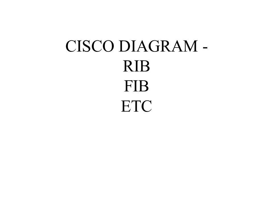 CISCO DIAGRAM - RIB FIB ETC