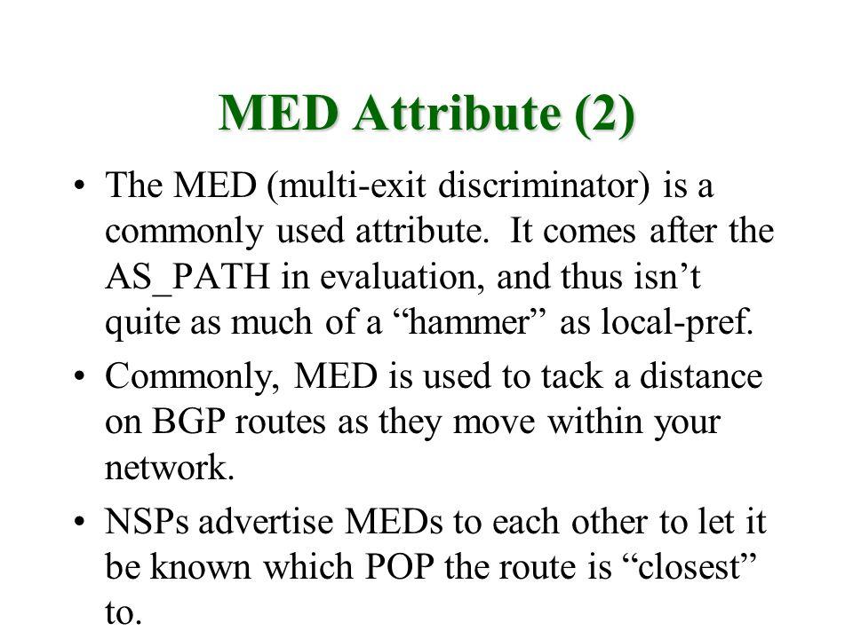 MED Attribute (2)
