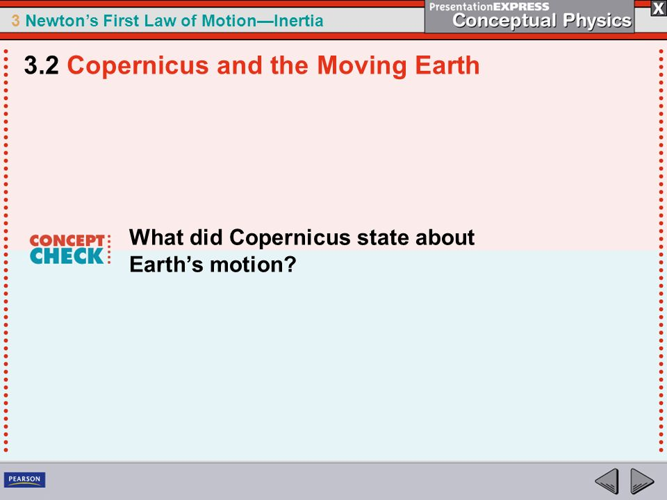 3.2 Copernicus and the Moving Earth