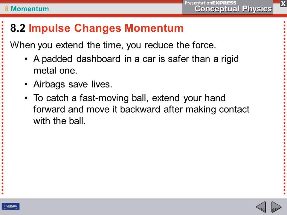 8.2 Impulse Changes Momentum