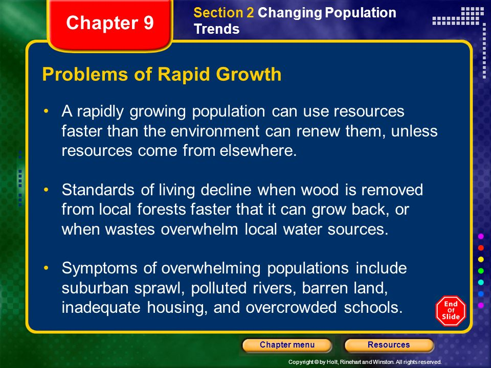 rapid population growth as a problem Rapid population growth and environmental degradation: ultimate versus  proximate factors - volume 16 issue 3 - r paul shaw.