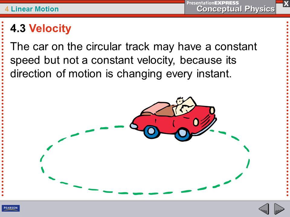 4.3 Velocity