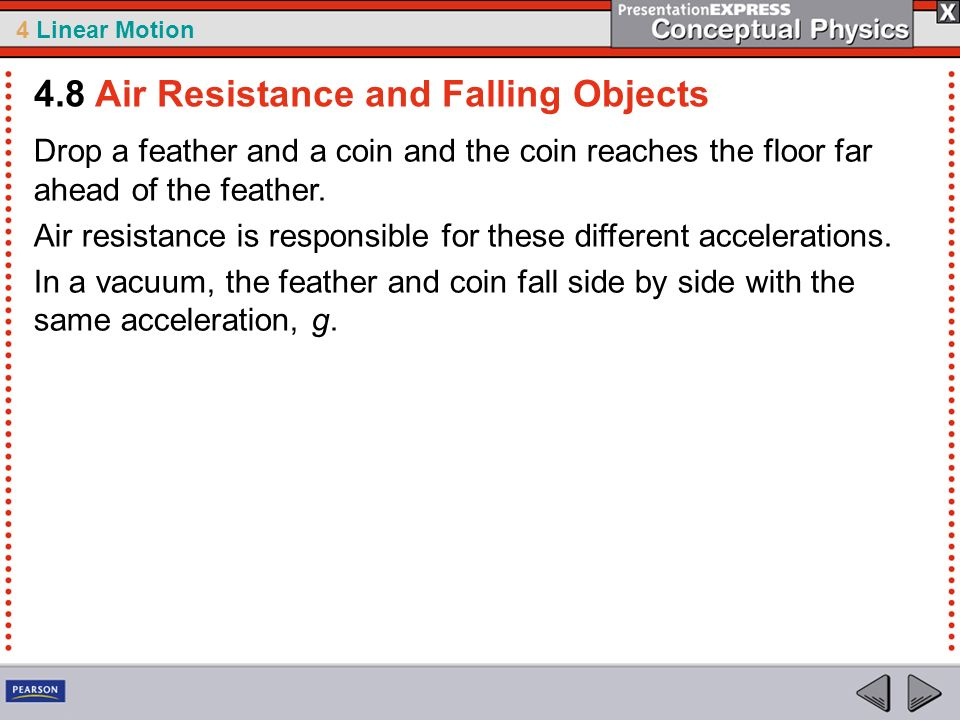 4.8 Air Resistance and Falling Objects