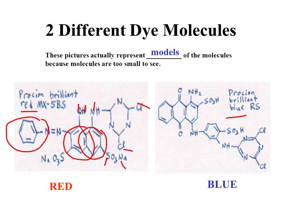 2 Different Dye Molecules