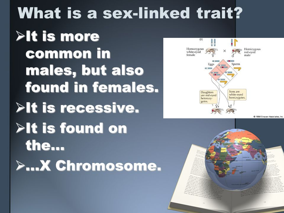 What is a sex-linked trait