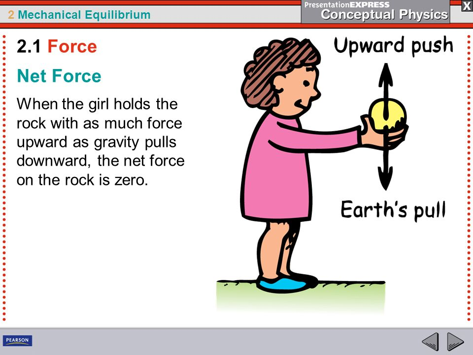 2.1 Force Net Force.