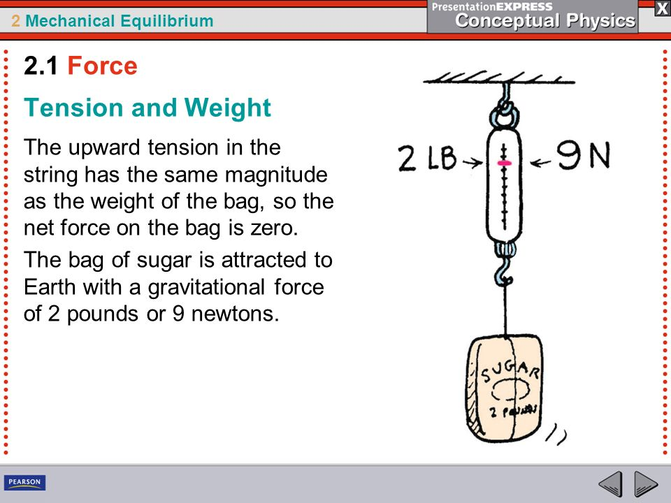 2.1 Force Tension and Weight