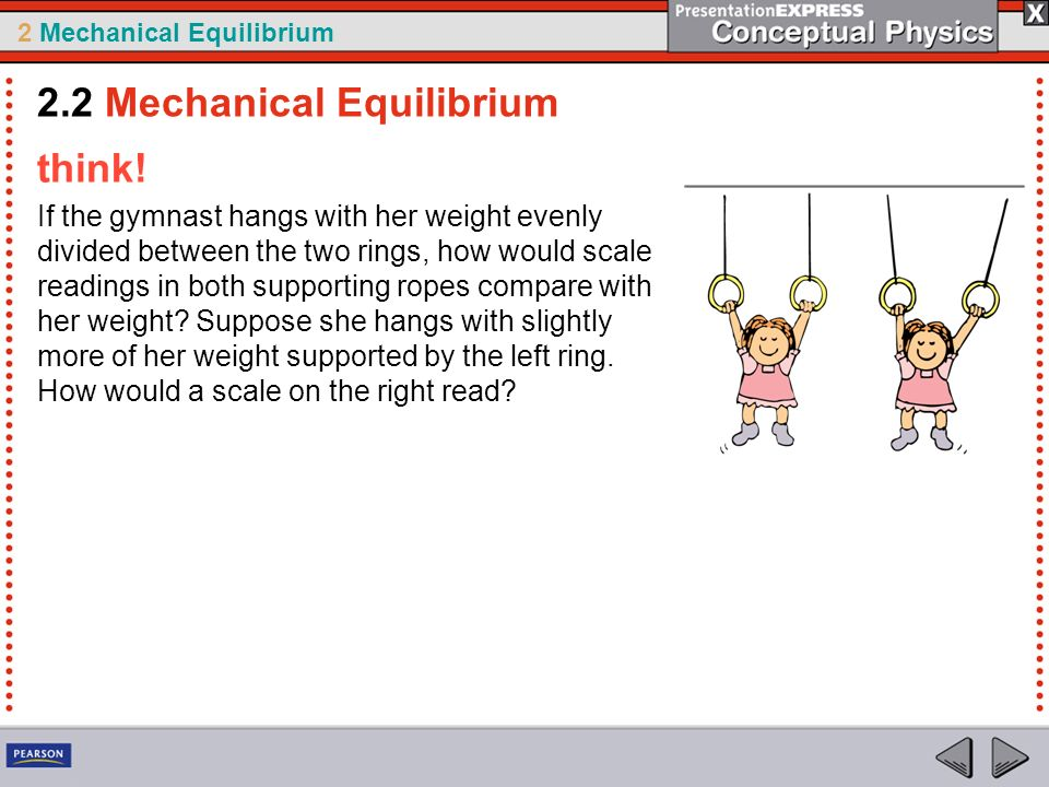 2.2 Mechanical Equilibrium