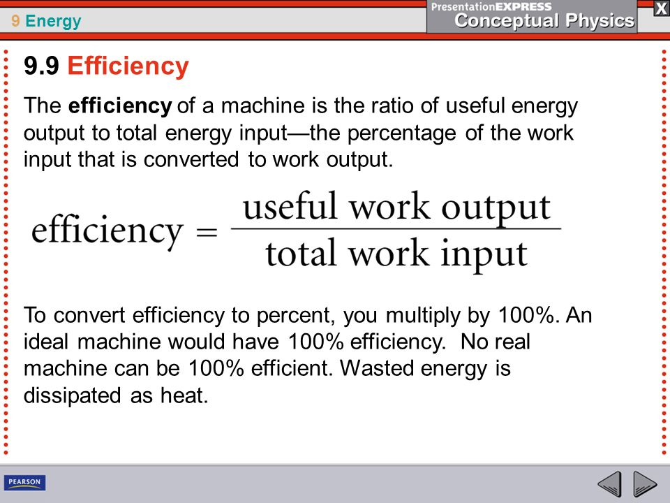 9.9 Efficiency