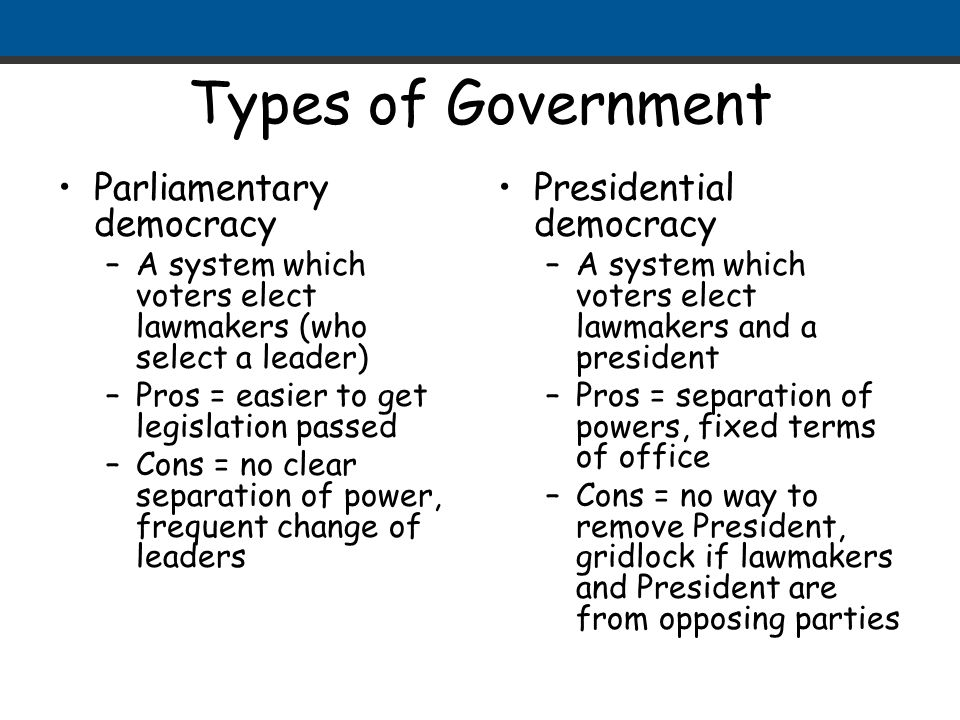 form of government in india