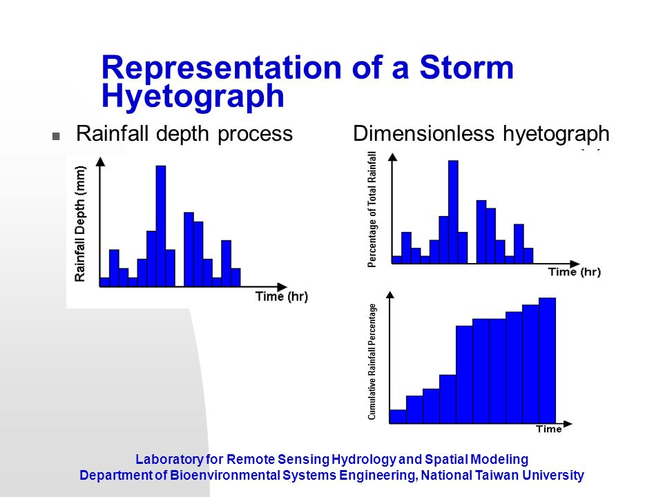 Representation of a Storm Hyetograph