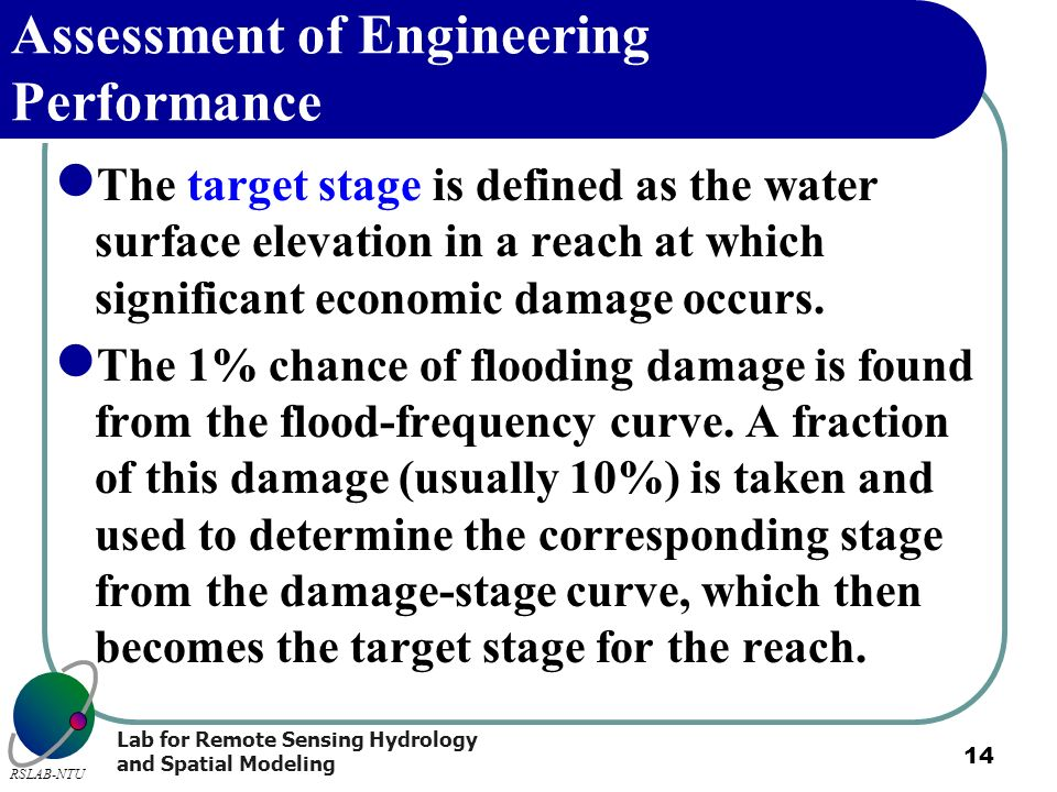 Assessment of Engineering Performance