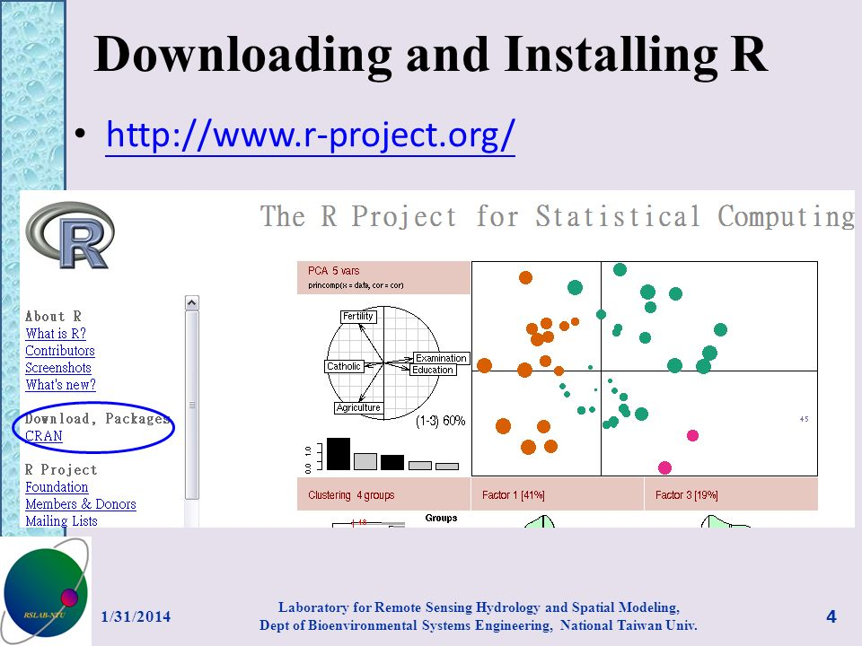 Downloading and Installing R