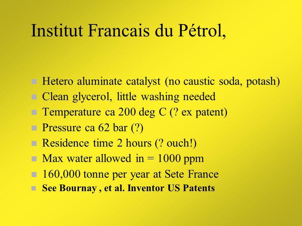 Institut Francais du Pétrol,