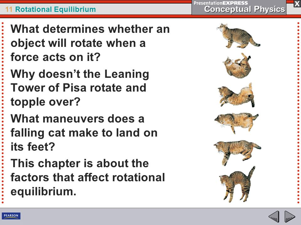 What determines whether an object will rotate when a force acts on it