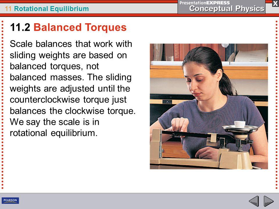 11.2 Balanced Torques