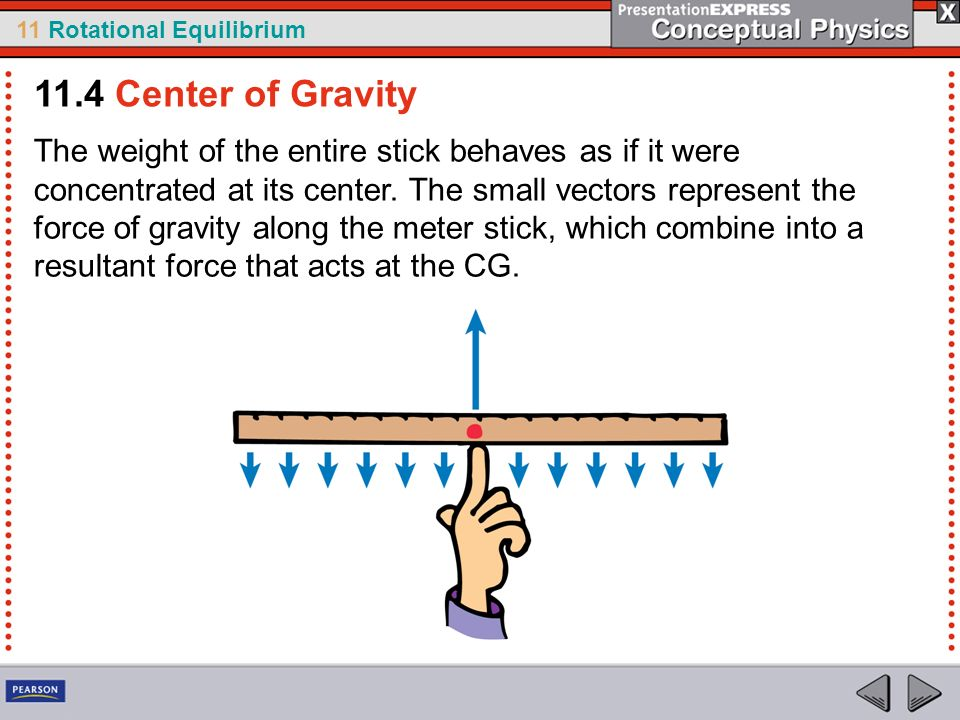11.4 Center of Gravity