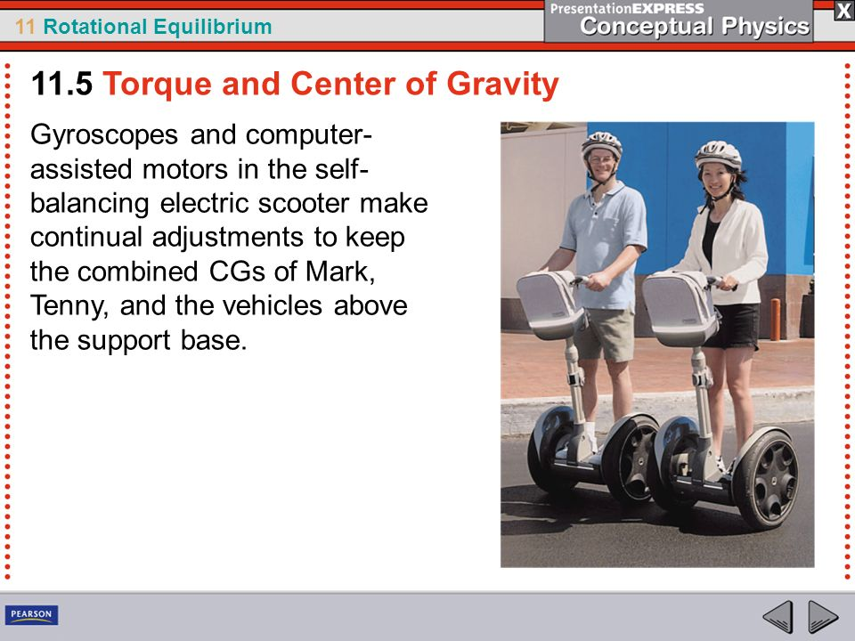 11.5 Torque and Center of Gravity