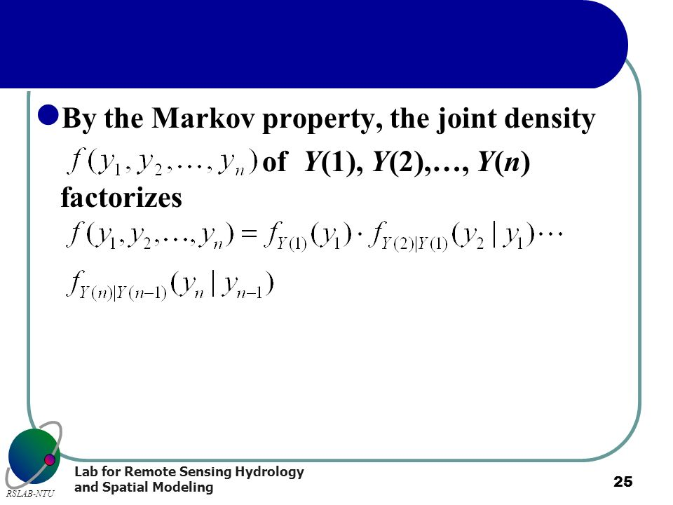 By the Markov property, the joint density