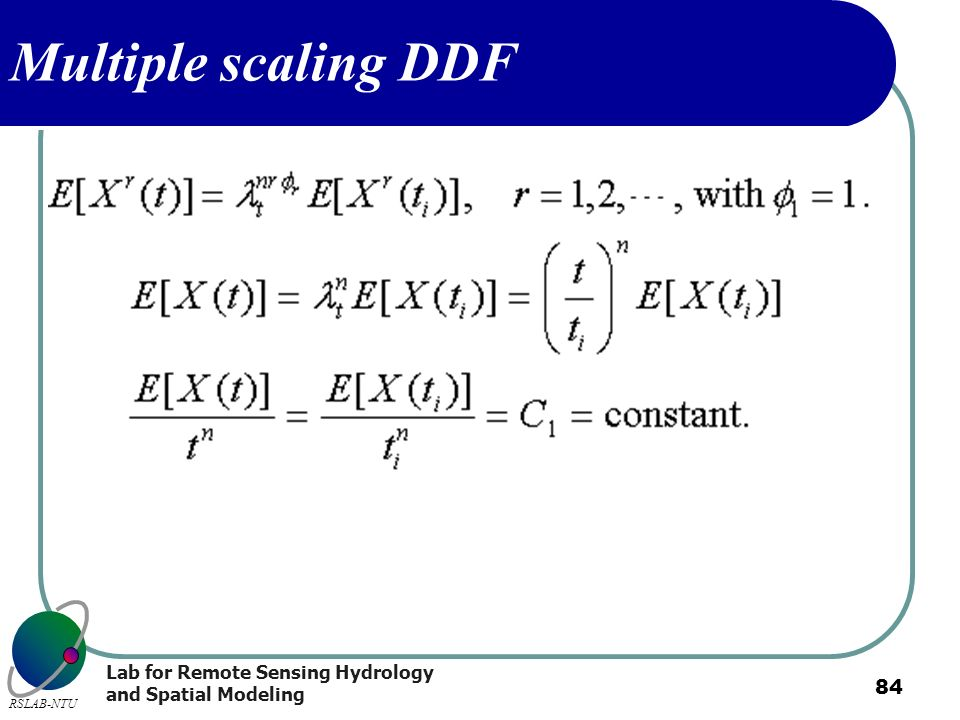 Multiple scaling DDF