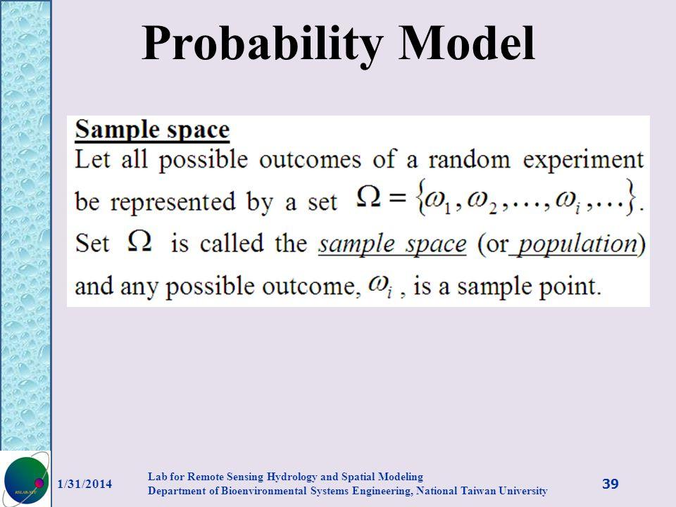 Probability Model 3/27/2017.