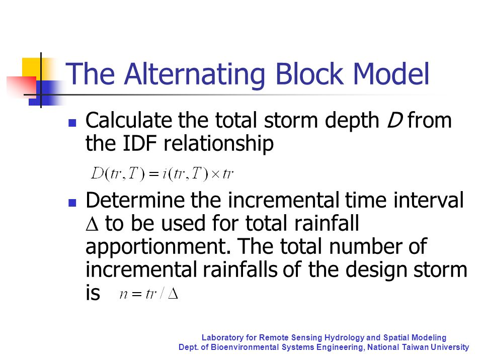 The Alternating Block Model