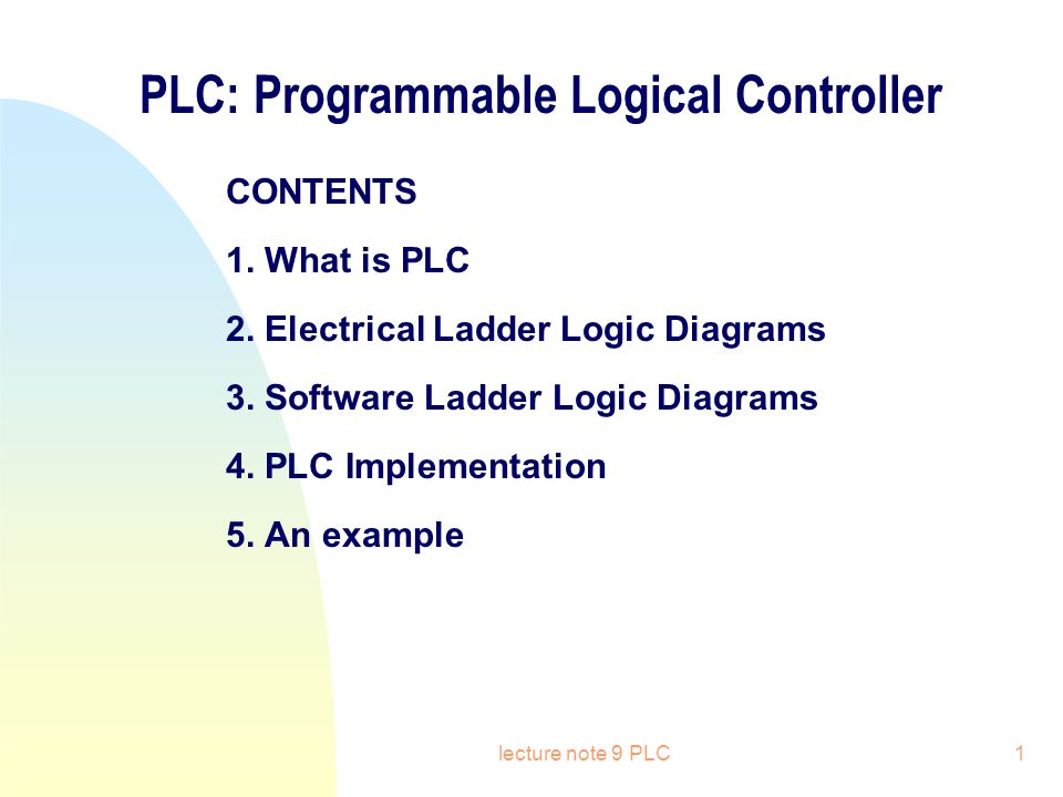 Plc programmable logical controller ppt video online download plc programmable logical controller ccuart Image collections