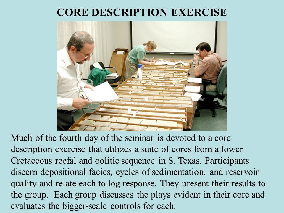 CORE DESCRIPTION EXERCISE