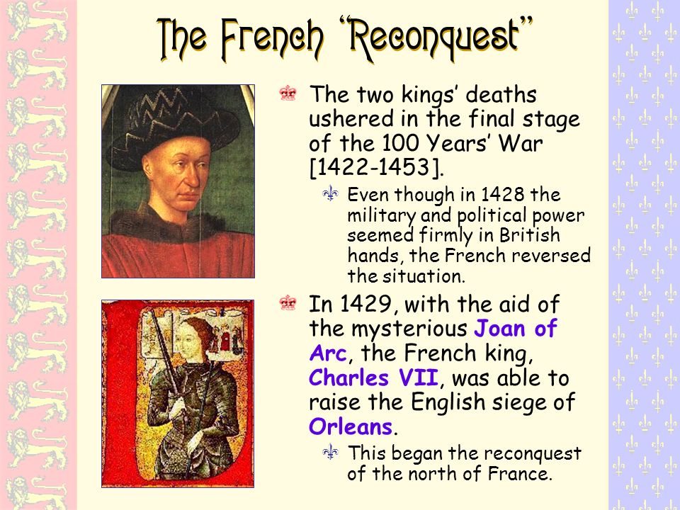 The French Reconquest