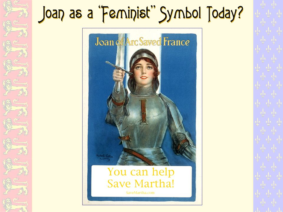 Joan as a Feminist Symbol Today