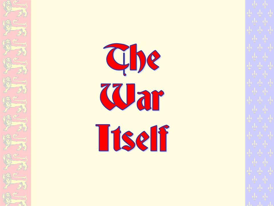 The War Itself