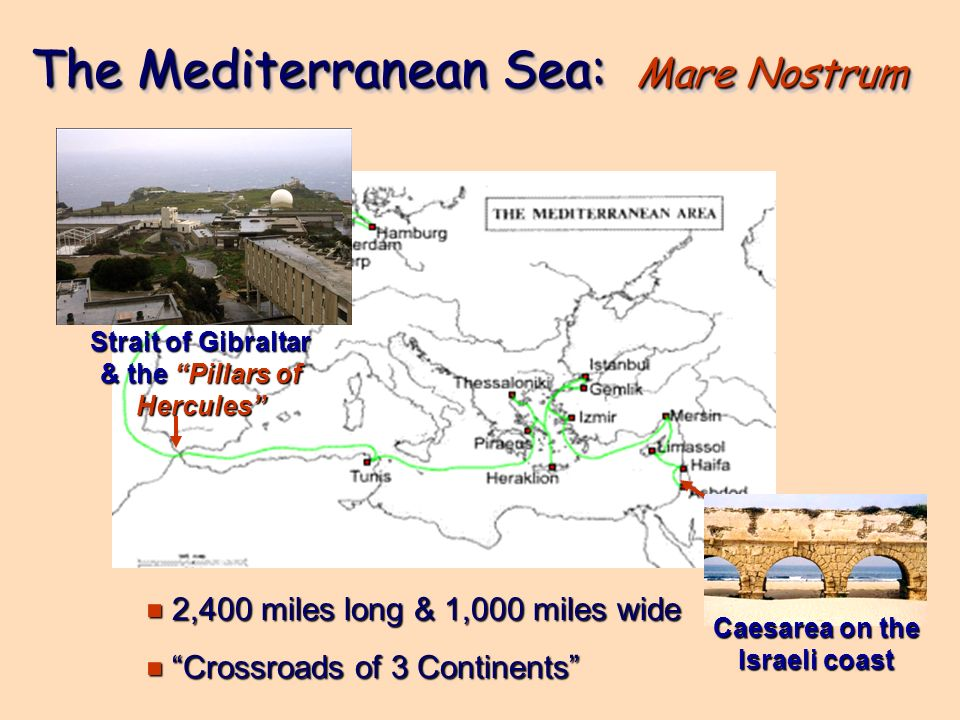 The Mediterranean Sea: Mare Nostrum