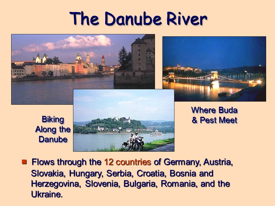 Biking Along the Danube