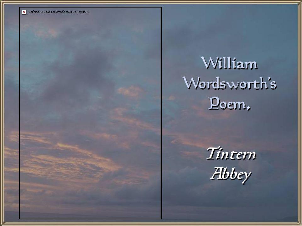 William Wordsworth's Poem,