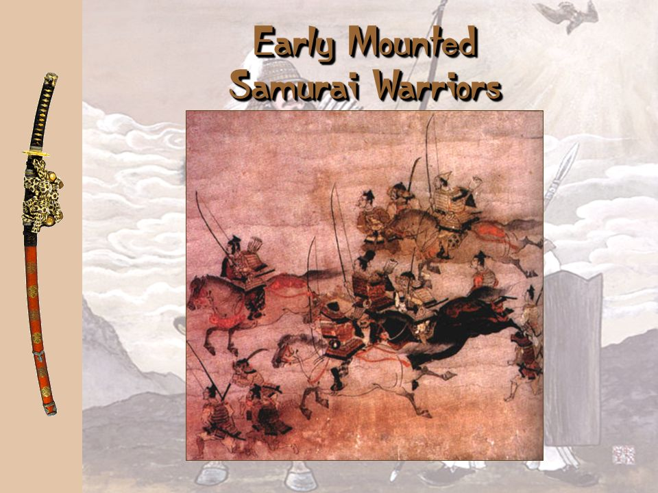 Early Mounted Samurai Warriors