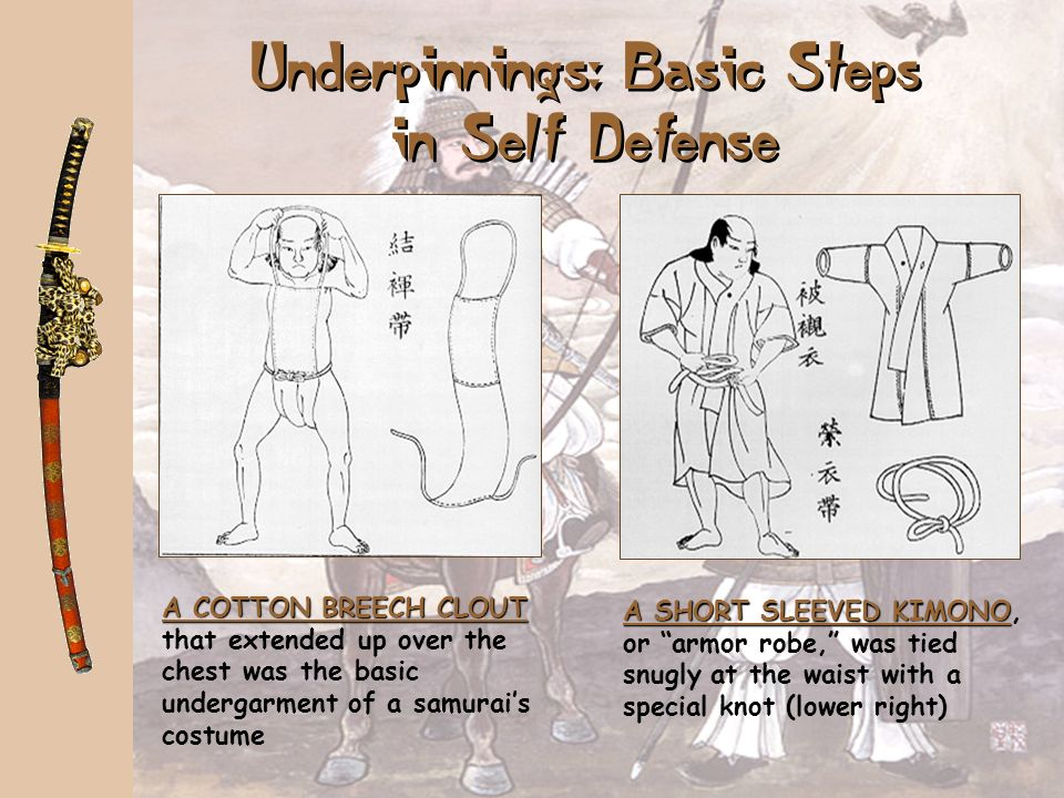 Underpinnings: Basic Steps in Self Defense