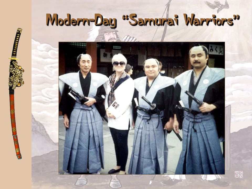 Modern-Day Samurai Warriors