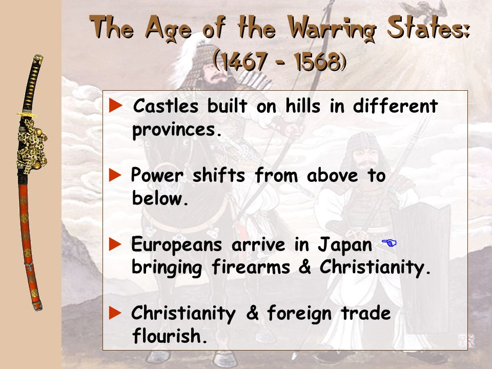 The Age of the Warring States: ( )