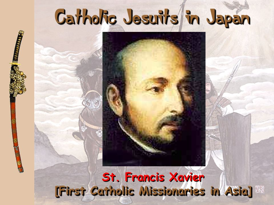 Catholic Jesuits in Japan