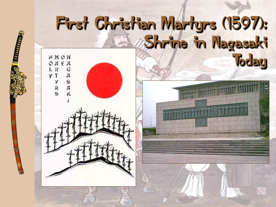 First Christian Martyrs (1597): Shrine in Nagasaki Today