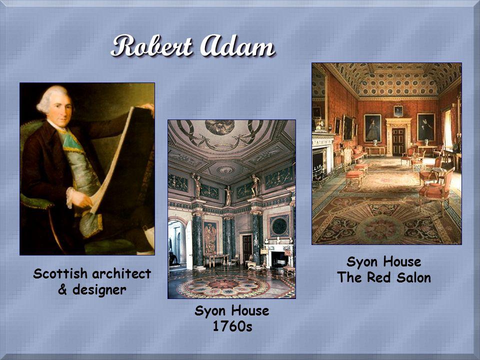 Syon House The Red Salon Scottish architect & designer