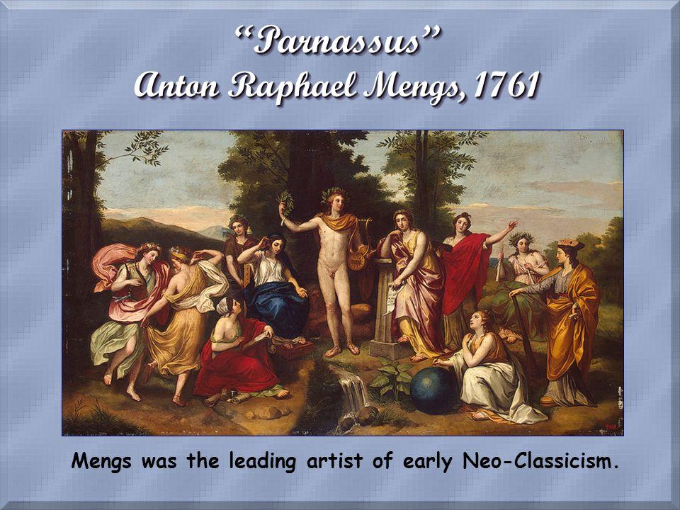 Parnassus Anton Raphael Mengs, 1761