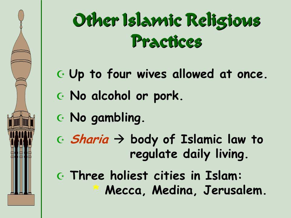 Other Islamic Religious Practices
