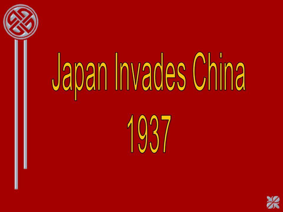 Japan Invades China 1937
