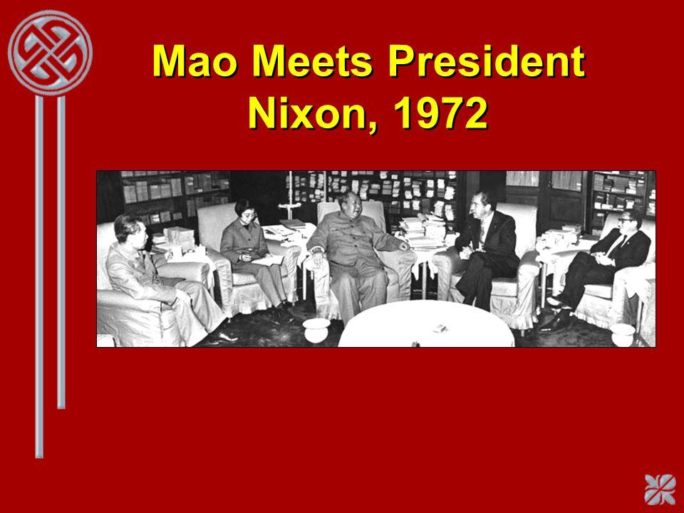 Mao Meets President Nixon, 1972