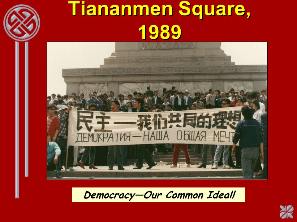 Democracy—Our Common Ideal!