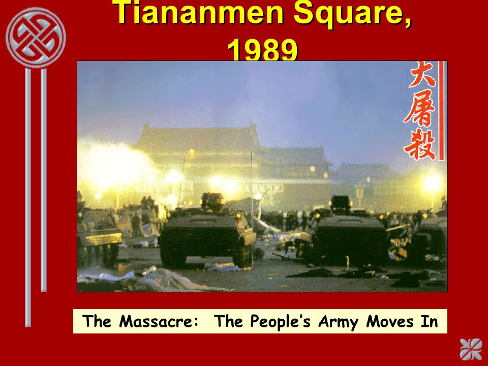 The Massacre: The People's Army Moves In