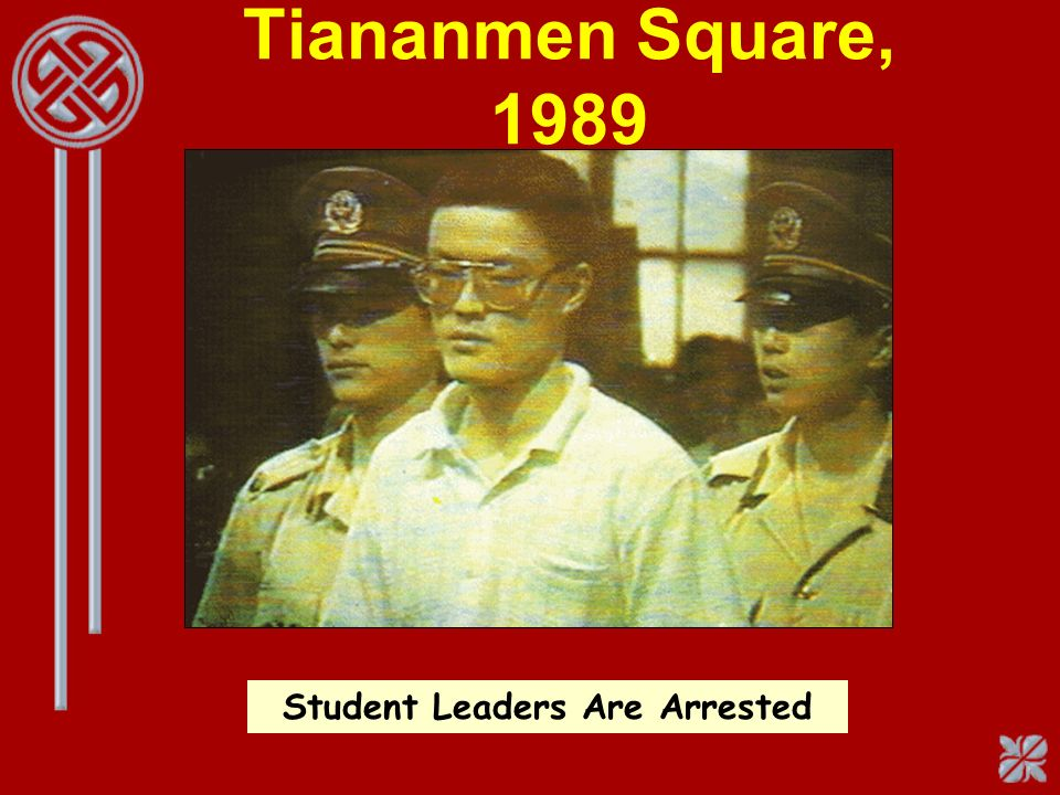 Student Leaders Are Arrested