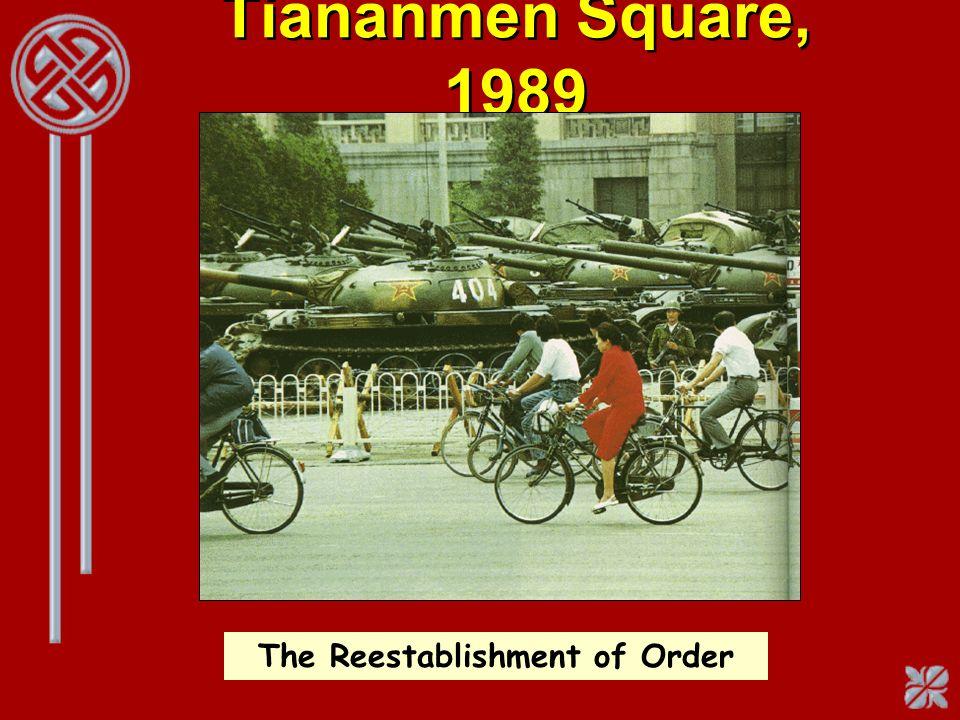 The Reestablishment of Order